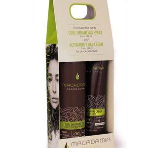 Macadamia curl set